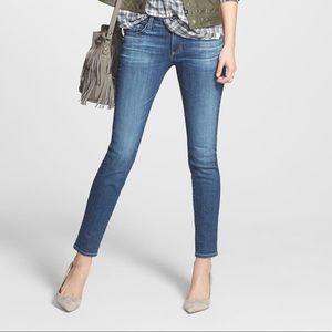 AG Stilt Cigarette Jeans Sz 24 short